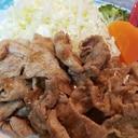 豚肉のニンニク生姜醤油焼き♪ご飯&おつまみに♪
