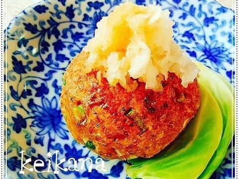 超簡単☆いかなごの釘煮で豆腐ハンバーグ♡