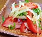 トマトと大葉のさっぱりサラダ