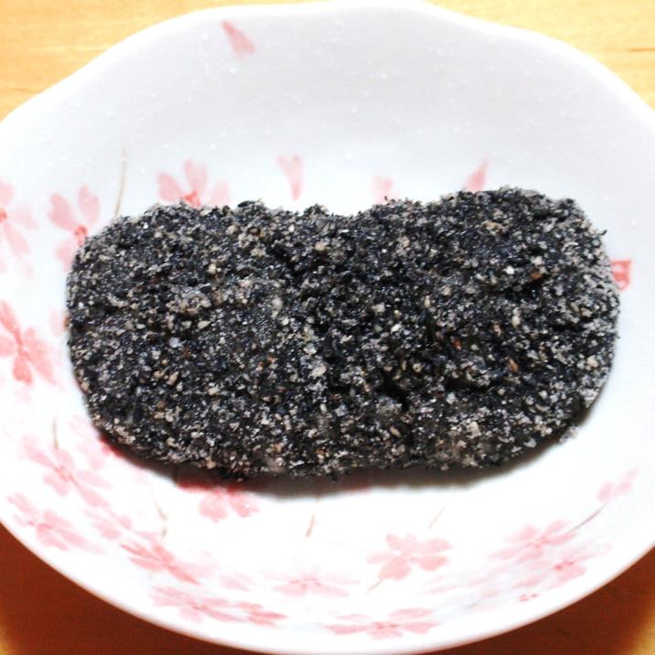 簡単で美味しい~☆黒ゴマもち☆