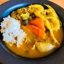ポトフをアレンジ☆スープカレー