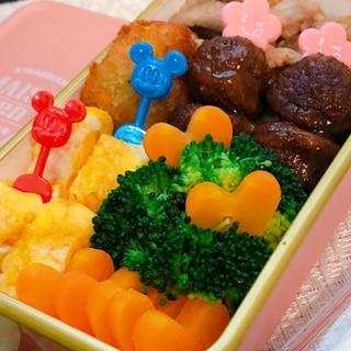 お弁当に是非☆レンジで簡単♡型抜き人参の白だし煮♡