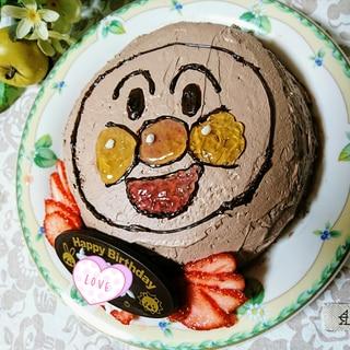 飾るだけ!のアンパンマンケーキ
