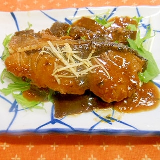 ご飯にぴったり~☆ブリの味噌煮☆