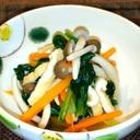 和の常備菜⭐小松菜・きのこ⭐煮浸し♪