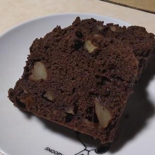 りんごチョコパウンドケーキ