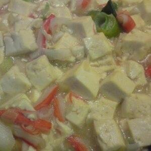 カニカマあんかけ豆腐