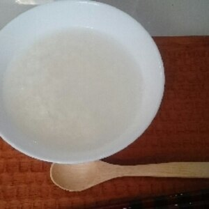 冷ご飯から作る美味しい白がゆ