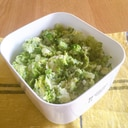 我が家の常備菜☆ブロッコリーとじゃが芋のマッシュ