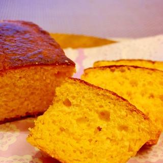 野菜ジュースでつくる☆混ぜるだけのシンプルケーキ
