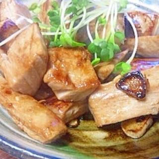 まぐろ加熱用~ニンニク醤油焼き
