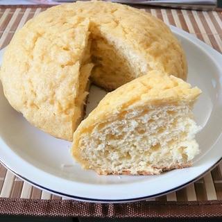 炊飯器で大きなメロンパン