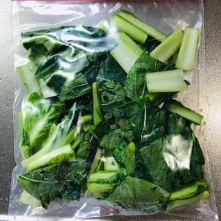 小松菜の冷凍保存★
