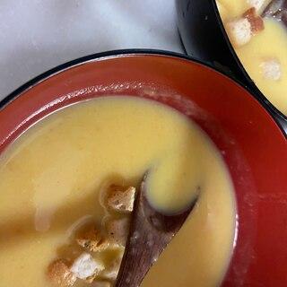 シチューの素で簡単かぼちゃスープ
