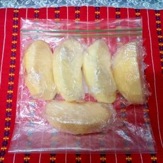 りんごの冷凍保存