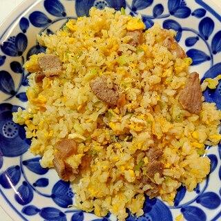 豚肉チャーハン 焼肉味