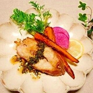 赤魚のソテー☆レモンパセリ醤油ソース