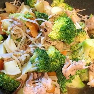 春野菜と豚肉のアーリオオーリオ