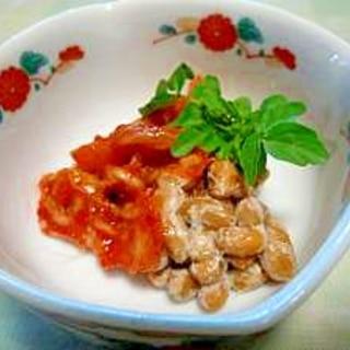 発酵食品の組み合わせが良い☆納豆キムチ