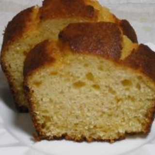 ホットケーキミックスの梅ジャムケーキ
