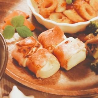 豆腐のベーコン巻き【90kcal 脂質5.1g】