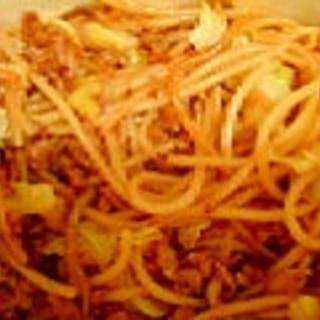 ひき肉パスタ