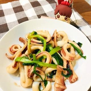 下処理いらずの冷凍イカで簡単ささっと、イカの甘辛煮