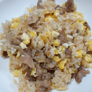 少ない材料で本格的炒飯♪