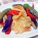 野菜と豚肉のカリカリ揚げ