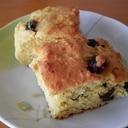大豆粉で作るレーズン入りパウンドケーキ