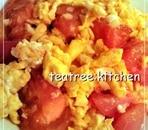 卵とトマトのふんわり炒め