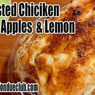 ローストチキン、アップルレモン味