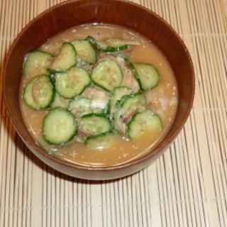 暑い時もサラサラ食べられる「冷や汁」
