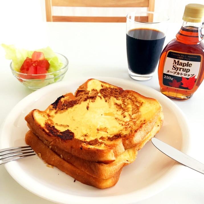 レンジ フレンチトースト セブン『レンジでふわとろ フレンチトースト』ふんわりとろーり食感が堪らない💓