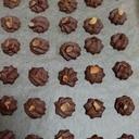 チョコ絞りクッキー