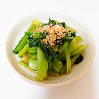 生姜香る✧*。小松菜のおひたし