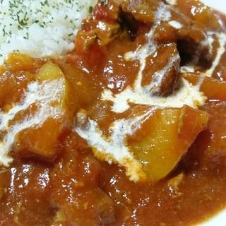 ストウブDe〜豚ヒレの無水カレー