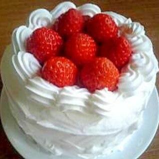 やっぱり1番好き☆いちごのショートケーキ