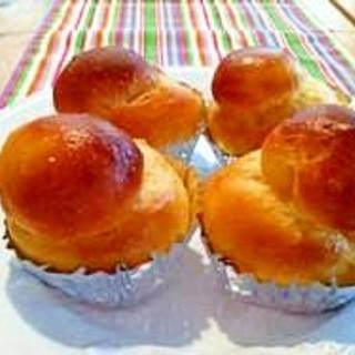 バターの香り豊かなフランスのパン 「ブリオッシュ」