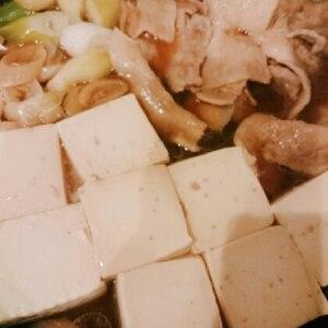 【定番】フライパンでササッと♪肉豆腐