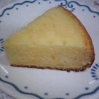 ホワイトチョコケーキ ~炊飯器編~