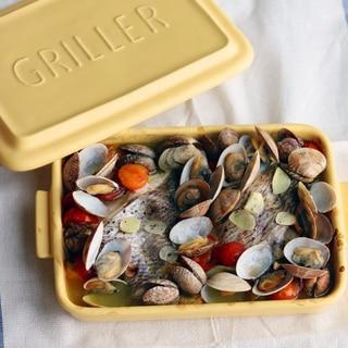グリラー&オーブンで 簡単アクアパッツァ