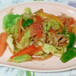 麻婆豆腐の素で作る野菜炒め