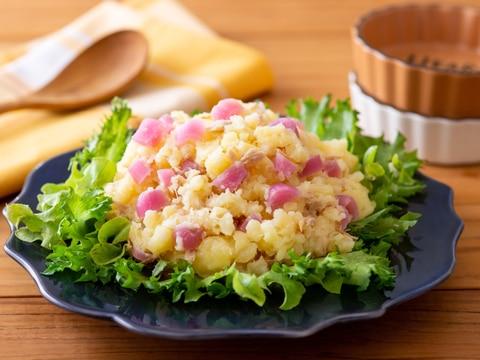 彩り鮮やか★霧島らっきょう入り 和風ポテトサラダ