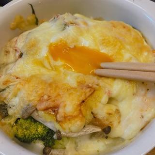 レンジとオーブンで簡単ヘルシーチーズ焼き