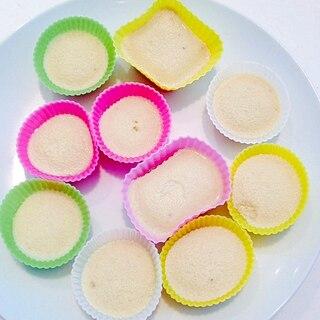 離乳食☆赤ちゃんのオヤツにバナナのプリン