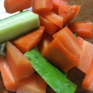 にんじんの茹で方が絶妙☆サラダ