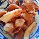 一夜干しイカと里芋の煮物(圧力鍋使用)