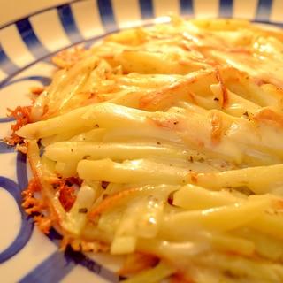 *ジャガイモとチーズのガレット*