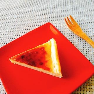 国産レモンで爽やか☆ベイクドチーズケーキ